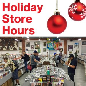 Holiday Hours Record Surplus – Gifts, Vinyl Records, CDs, DVDs