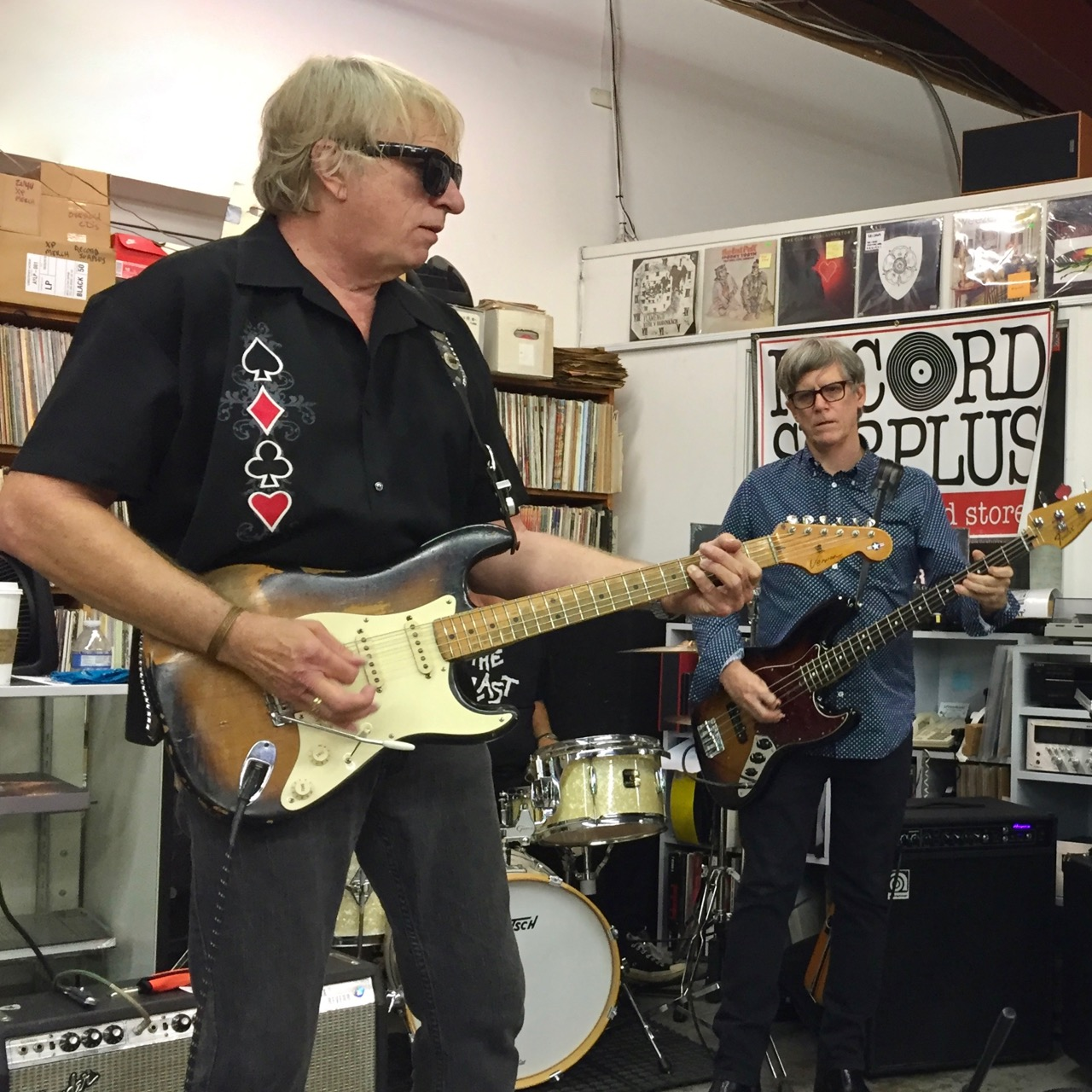 3 Balls of Fire – Free Performance at Record Surplus