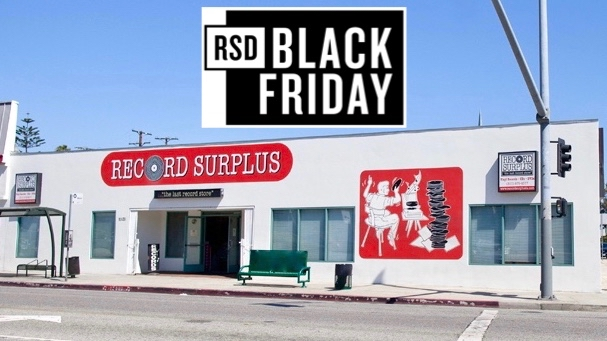 Record Store Day Black Friday + 3 Day Sale at Record Surplus Los Angeles