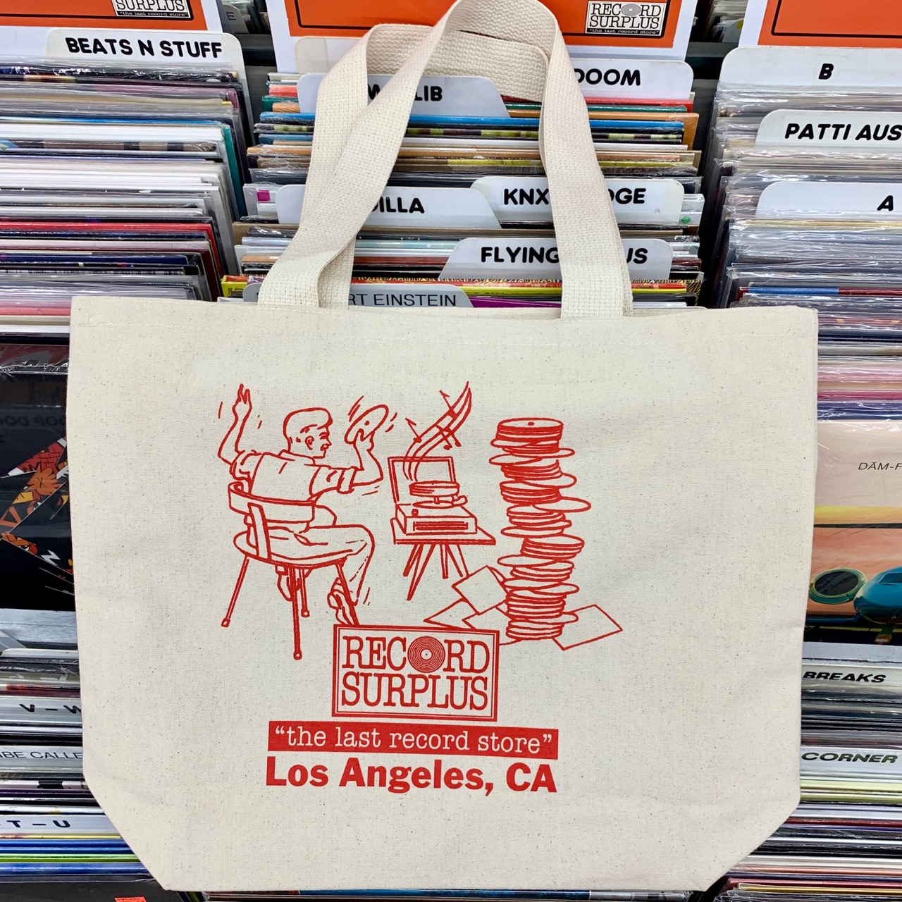 New Record Surplus Tote Bags Are Here