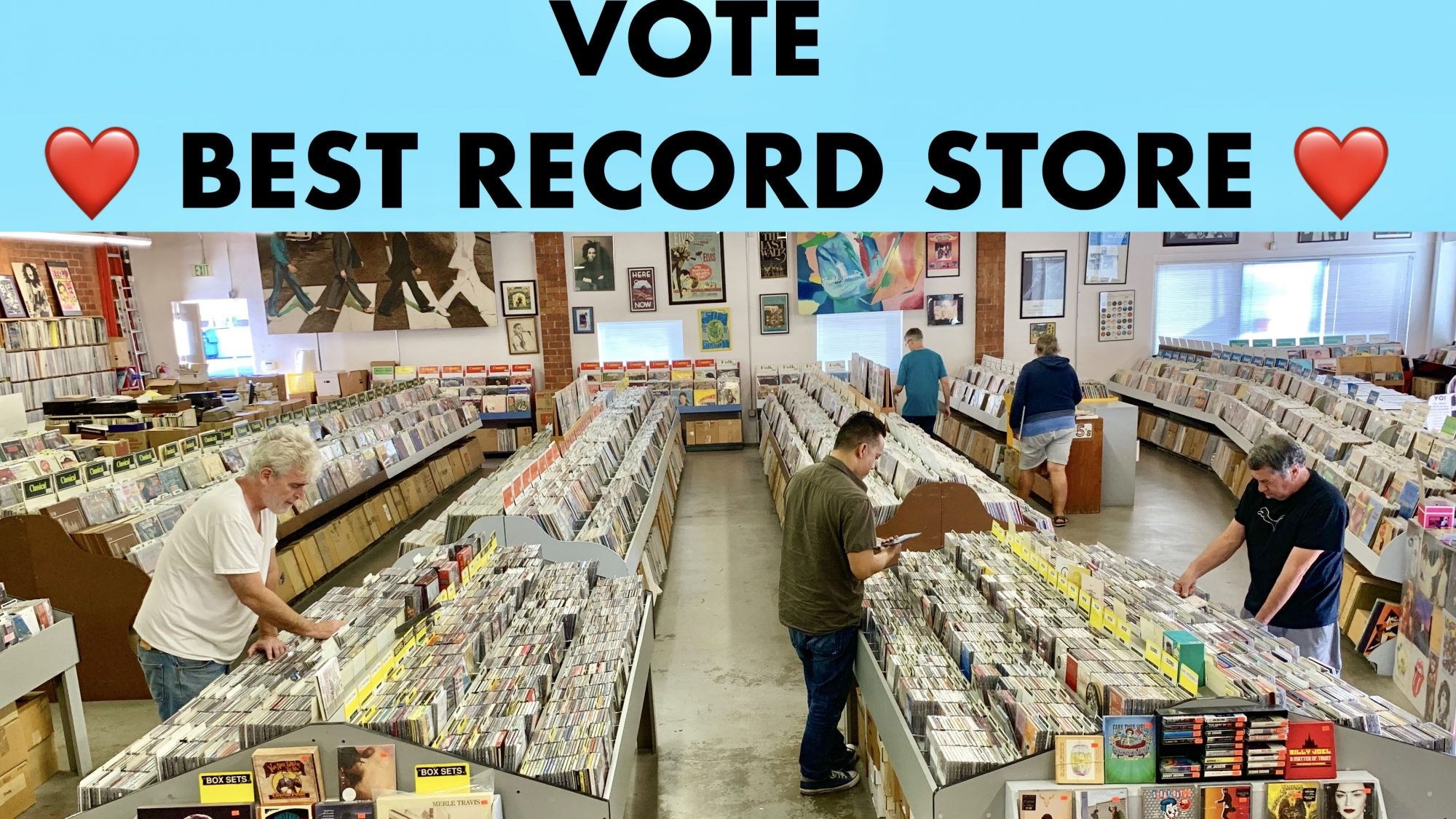 Vote Best Record Store 2019