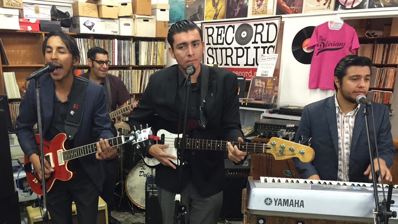 Free Live Music Concerts in Los Angeles at Record Surplus
